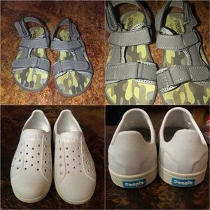 Boy's Summer Shoes Size 8